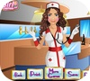 Кадр из игры Макияж: Медсестра