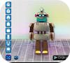 A shot of the game Make a Robot