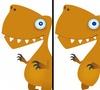 Кадр из игры Поиск отличий: Динозавры