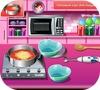 Кадр из игры Пицца на День святого Валентина: Кулинарный класс Сары