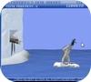 Кадр из игры ЙетиСпорт-Метание пингвина вверх