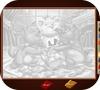 Кадр из игры Раскраска: Коты аристократы