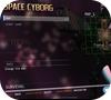 Кадр из игры Космический киборг