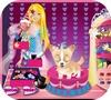 Кадр из игры Барби и ее милая собачка