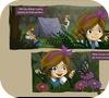Кадр из игры Менди в сказочном лесу