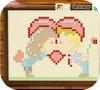Кадр из игры Вышивка: День святого Валентина