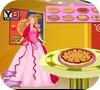 Кадр из игры Сладкая пицца для Барби