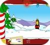 Кадр из игры Снежки с Симпсонами