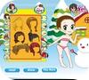 Кадр из игры Принцесса и снеговик