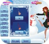 Кадр из игры Модные снежинки