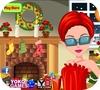 Кадр из игры Лицо Миссис Санты