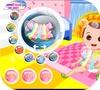Кадр из игры Пузыри: Одеть ребенка