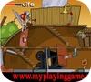 Кадр из игры Домик в деревне