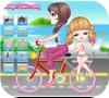 Кадр из игры Велопрогулка с мыльными пузырями