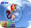 Кадр из игры Раскрась Катти
