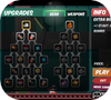 Кадр из игры Лис-стрелок VS Босс монстров