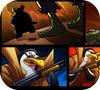 Кадр из игры Зомби VS Пингвин 3
