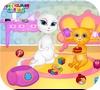 Кадр из игры Анжела и малыш