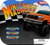 A shot of the game Mini Truck Madness