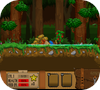 Кадр из игры Одиночка: Лесные зомби