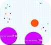 Кадр из игры agar.io (Агарио)