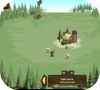 A shot of the game Zombidle