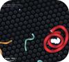 Кадр из игры Slither.io