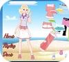Кадр из игры Одевалка: Пляжное приключение