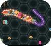 Кадр из игры Wormate.io