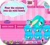 Кадр из игры Радужный торт Снуппи для клоуна