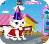 Кадр из игры День рождения моей маленькой кошечки