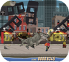 Кадр из игры Атака акулозавра