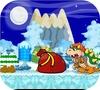 Кадр из игры Зимний забег Марио