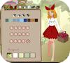Кадр из игры Одевалка: Красная шапочка