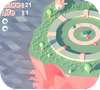Кадр из игры Кубическая защита