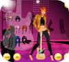 Кадр из игры Одевалка: Рок звезда