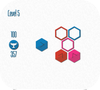 Кадр из игры Шестиугольники