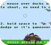 Кадр из игры Охота на уток