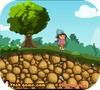 Кадр из игры Даша: Спасение детеныша динозавра