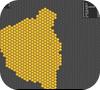 Кадр из игры superhex.io
