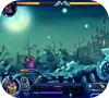 Кадр из игры Галаксикс