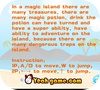 Кадр из игры Сокровища волшебного острова