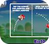 Кадр из игры Забег супер Марио
