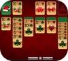 Кадр из игры Рождественский пасьянс Косынка