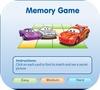 Кадр из игры Тачки: Игра на память