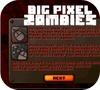 Кадр из игры Майнкрафт: Большой пиксельный зомби