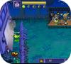 Кадр из игры Горох VS Зомби