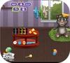 Кадр из игры Говорящий Том: Купание малыша