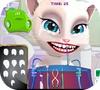 Кадр из игры Том и Анжела у стоматолога