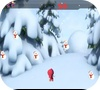 Кадр из игры Маша и медведь: Падающие снеговики